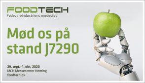 Besøg os på FoodTech, stand J7290